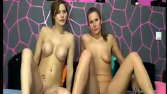ForceSexys: hot lesbian couple