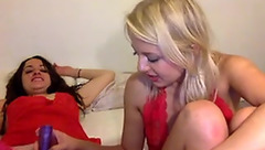 Blonde Daisylacy naughty with her friend