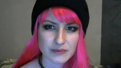 Camgirl LittleMermaid with pink hair