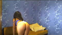 Blackpuma7 teases in front of webcam
