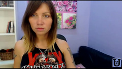 Amazing Russian cam model aTattooedCutie