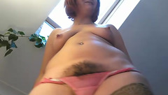 SashaWhyNot with hairy pussy