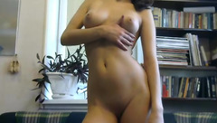 AlisiaAndSlim: naked gal posing on webcam