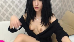 Black-haired cutie BellaLissa