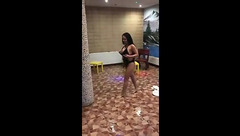 SophieDesiree went to the pool