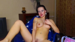 Adelina_Sky toying and fingering herself