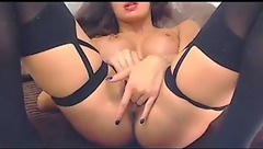Horny babe GoldPrivat fingering her cunt and asshole