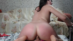 Sweet_candy_lips: wife riding on the dick