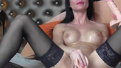Hot TiaRussel plays with sex toys