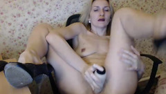 Private show with Russian housewife Mallinia