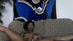 Dirtydouble1: ebony wife masturbating
