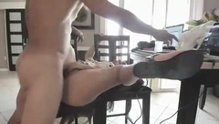 Hotpussytime fuck on the chair