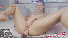 Hayleex: ass banging with Fucking machine