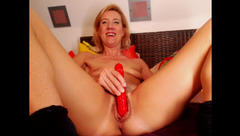Lola1981 masturbating with big vibrator