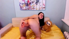 EmilyScotch Can Take On Her Biggest Dildo