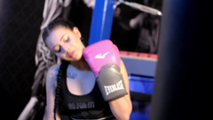 EllenMartin trains in the ring