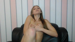 Petite Girl Plays with Her Pussy