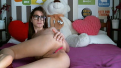 Nerdy webcam babe Sonyvaio24