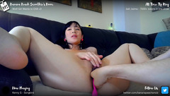Bananapeachsmoothie Lelo and fingering cumshow