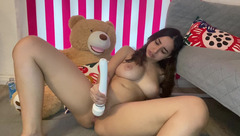 Brazilian girl - Playing with my pussy till I cum