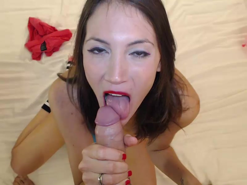 Exciting slender shaped brunette Mysweetapple is being fucked hard in doggy pose in front of the webcam