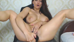 Tanyalilyth suck and ride big dildo