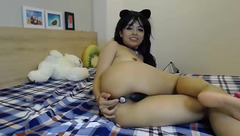 Anniesmile: hot show with Ohmibod