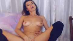 Dallasmoore sitting on a chair and masturbates